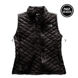 Thermoball Black Quilted Vest